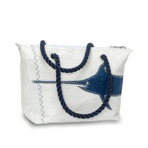 Segeltuchtasche Südwind Schwertfisch Blau